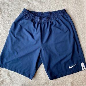 Nike Men's 9In. Court Shorts Midnight Navy Size L